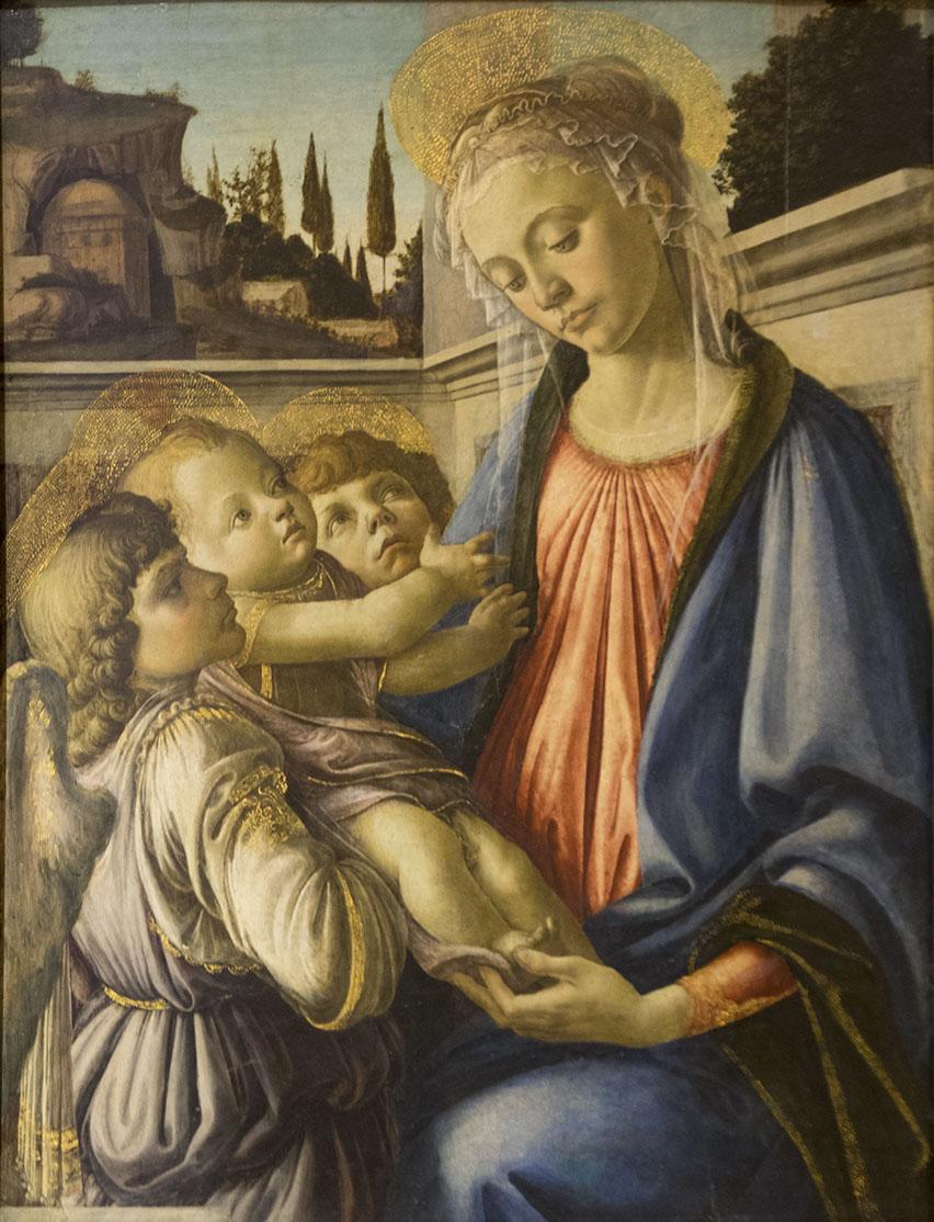 Botticelli, Madonna col Bambino
