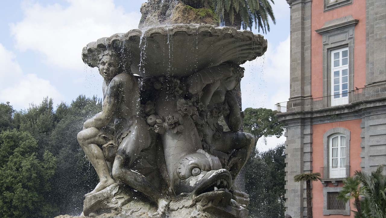 Artbonus, fontana del belvedere