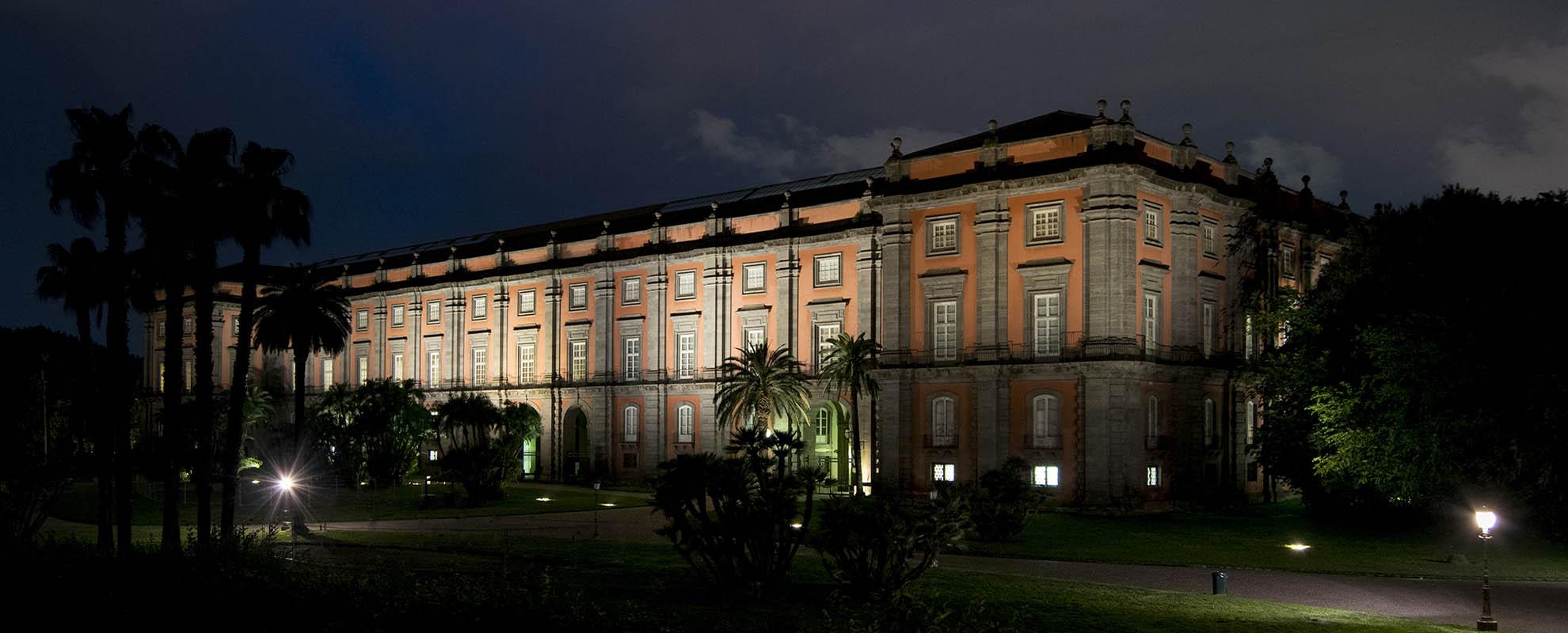 Museo in notturna, foto Alessio Cuccaro