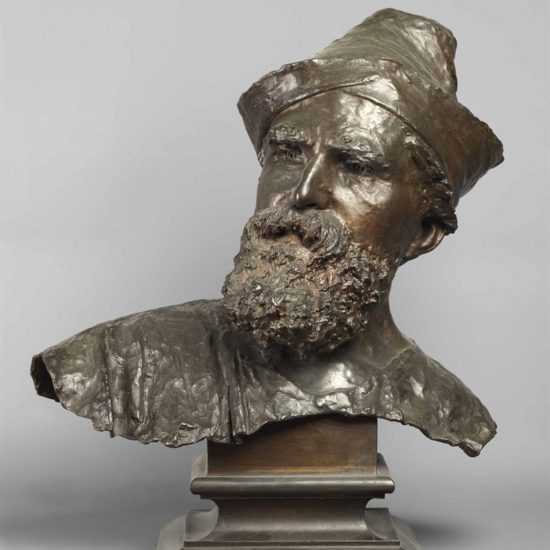 Vincenzo Gemito, Busto di Domenico Morelli, 1873 Napoli, Museo e Real Bosco di Capodimonte
